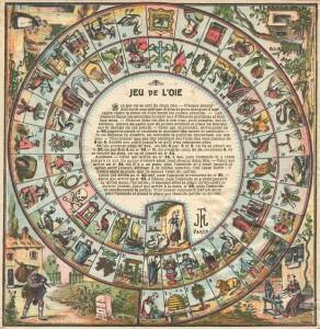 Les jeux de l'oie - Conjugaison dans Grammaire jeudeloie1-292x300